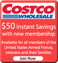 Costco Military Membership Discount