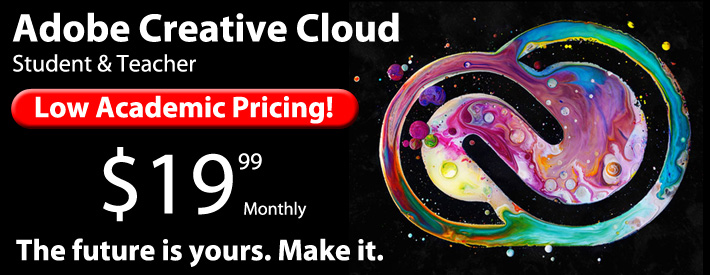 Adobe Creative Cloud - $19.99