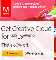 Adobe Creative Cloud For Students