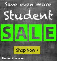Fall Semester Sale