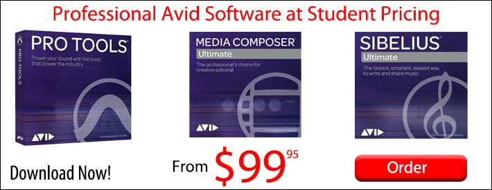 Avid Pro Tools from $99