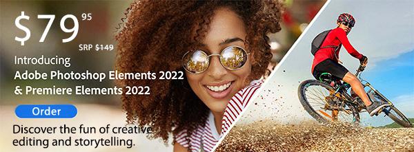 Adobe Photoshop & Premiere Elements 2022