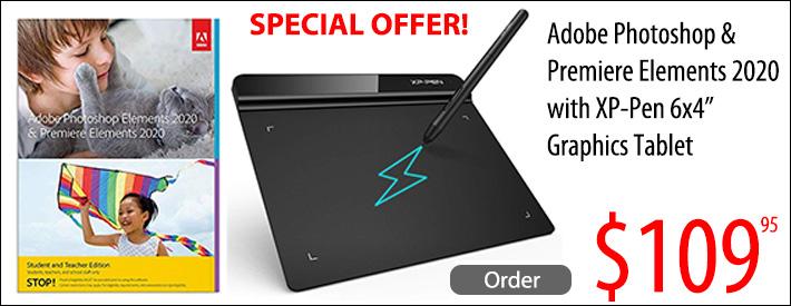Adobe Photoshop/Tablet Bundle