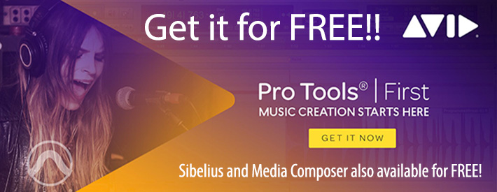Avid Pro Tools and more - Free
